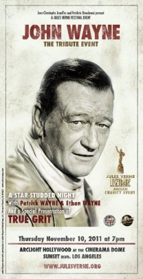 JOHN WAYNE TRIBUTE EVENT POSTER