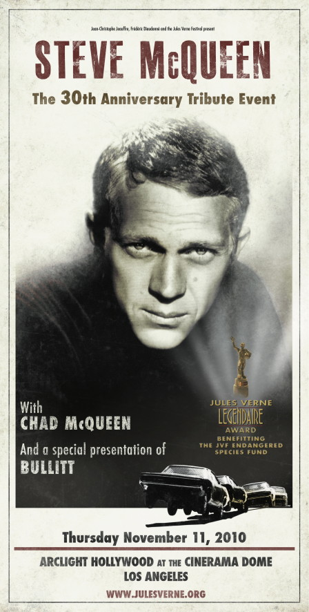 McQUEEN 30TH POSTER 100