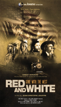RED & WHITE POSTER